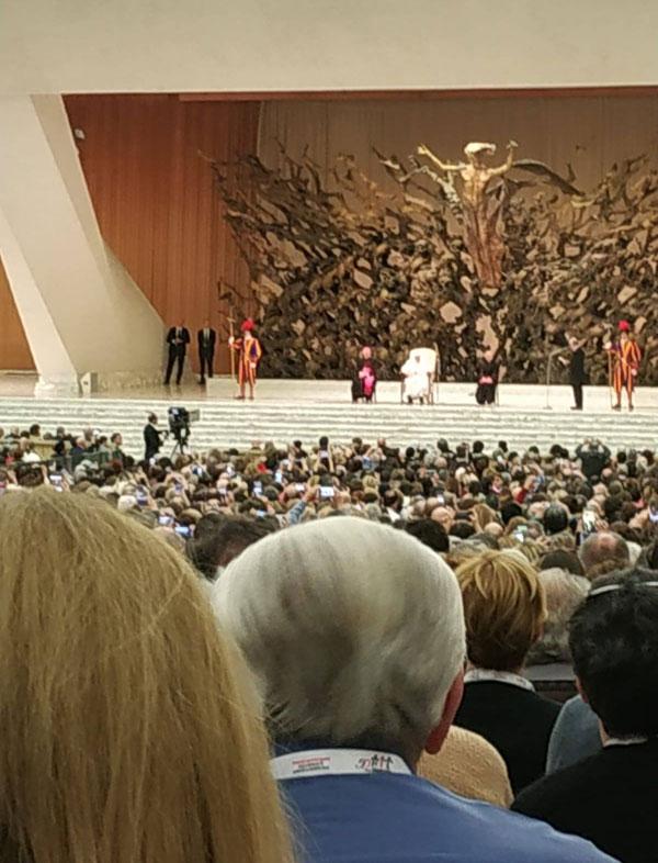 Udienza dell'AIL dal Santo Padre, 2 marzo 2019