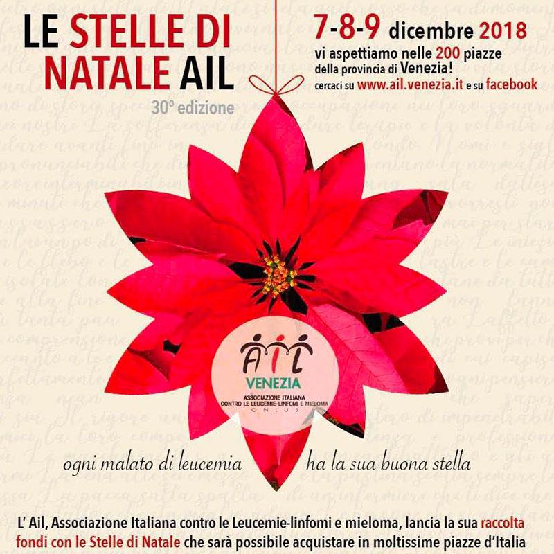 AIL Stelle di Natale, 7-8-9 dicembre 2018